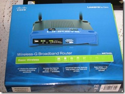 WRT54GL Box Web