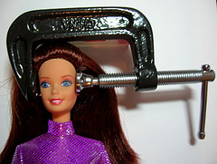 Deborah Leigh (Migraine Chick) - Migraine Barbie has Snapped!.jpg